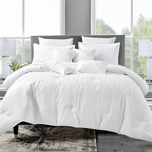 7, piece, bedding, comforter, set, luxury, bed, in, a, bag, , queen
