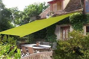 voile d39ombrage un accessoire 1001 styles dans mon jardin With voile d ombrage jardin