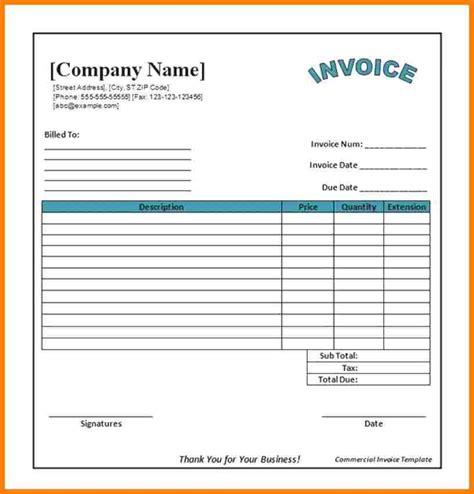 restaurant bills format  word sample travel bill