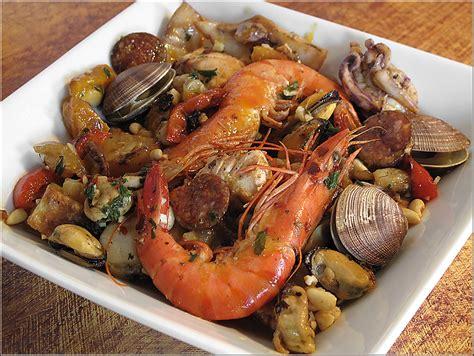 poisson cuisine recette de cuisine parillada de poissons