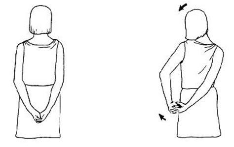 Cviky na mezilopatkové svaly