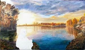 Peindre Au Pastel : l 39 enfant du lac pas a pas peinture l 39 huile pastel sec graphite ~ Melissatoandfro.com Idées de Décoration