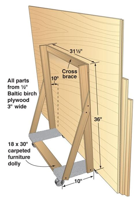 shop tips lumber rack woodworking