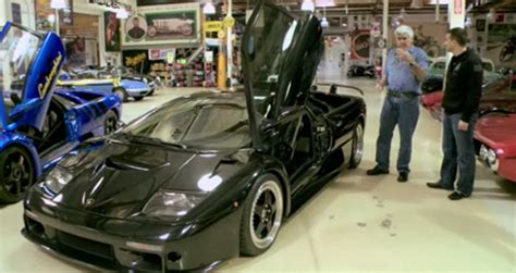 Video Jay Leno's Garage Paid A Visit By Two Lamborghini