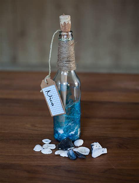 flaschenpost einladung fuer die beachparty