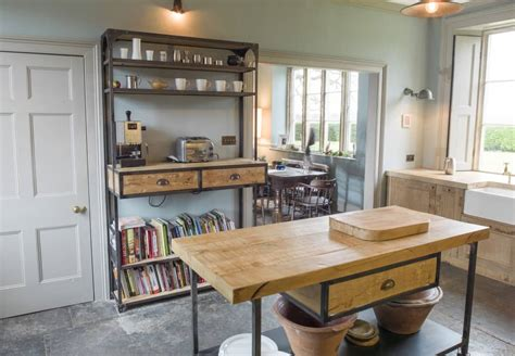 bespoke fitted kitchens industrial style vintage kitchen