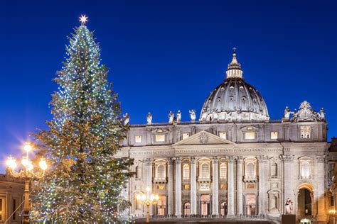 The Most Beautiful Christmas Trees In Rome