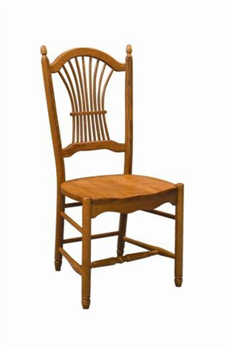 amish sheaf back dining chair