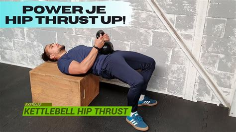 kettlebell hip thrust