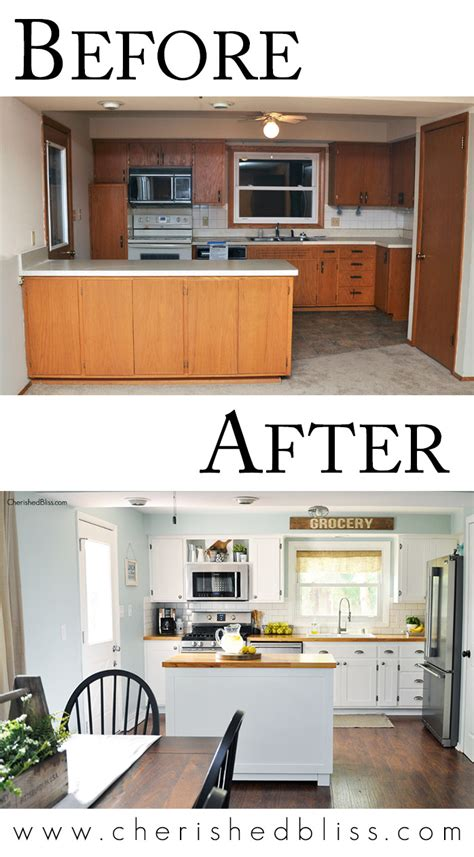 Tips For A Budget Friendly Kitchen Makeover From Cherished