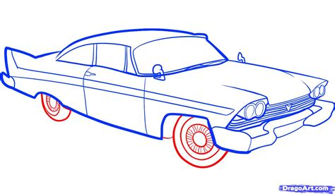 car drawing how to draw an old car old car step by step cars draw