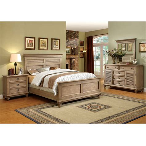 Shop Bedroom Sets by Riverside Coventry Shutter 4 Pc Bedroom Set Bedroom
