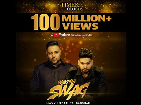 Hit Song 'wakhra Swag' Crosses 100 Million Views On