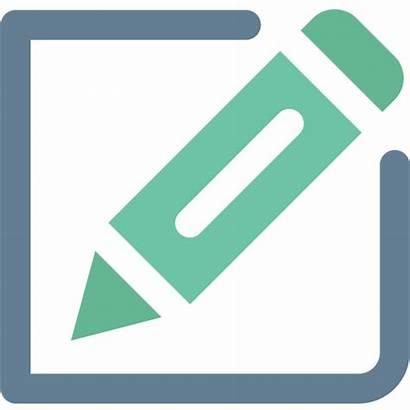Icon Create Edit Pencil Creative Writing Office