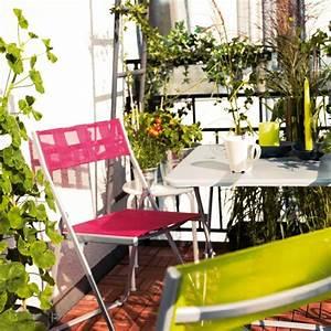 Ikea Table Balcon : meubles de balcon compacts en mat riaux selon l 39 orientation ~ Teatrodelosmanantiales.com Idées de Décoration