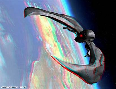3d Glasses Space Cyan Anaglyph Awesome Demo