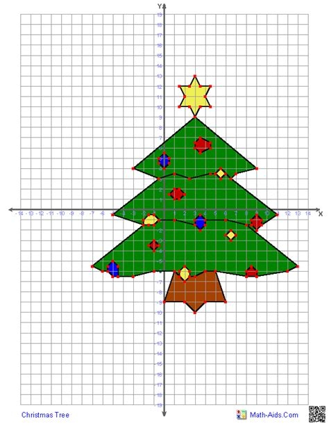 christmas tree stumper math 17 solution graphing worksheets four quadrant graphing characters worksheets