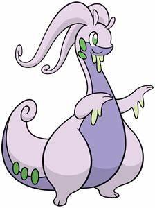 Goodra Official Artwork Gallery Pokémon Database