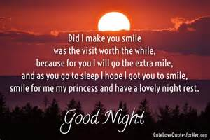 Romantic Good Night Love Poems for Her