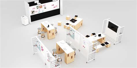 module de classement bureau pixel mobilier de bureau bene