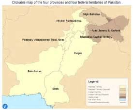 Pakistan Map Provinces