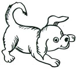 Easy to Draw Cartoon Dog Drawings