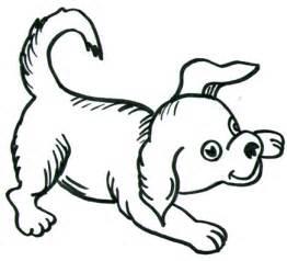 Easy to Draw Cartoon Dog Drawings