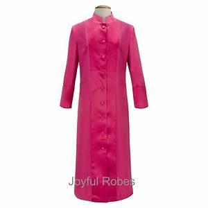 women39s fuchsia clergy robe cassock ladies clergy robes With robe fuchsia