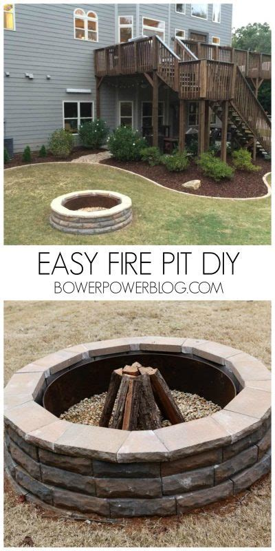 57 Inspiring DIY Outdoor Fire Pit Ideas to Make S'mores