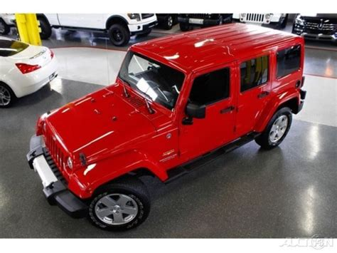 Jeep Wrangler Color Hardtop by 2012 Jeep Wrangler Unlimited Color Matching Hardtop