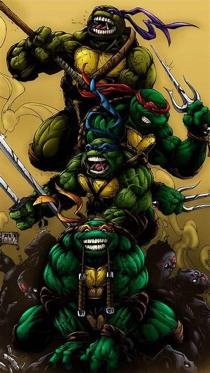 Ninja Turtles Teenage Mutant Wallpapers Tmnt Iphone