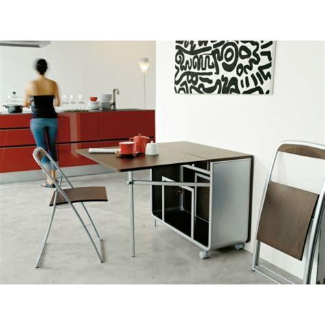 Designs créatifs de table pliante de cuisine Archzine.fr