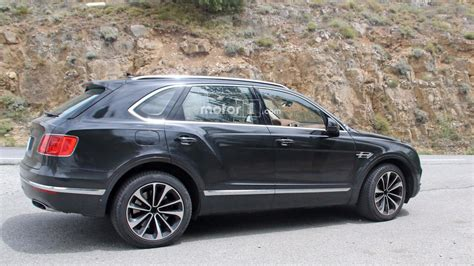 Bentley Bentayga Plugin Hybrid Spied