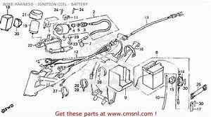 Honda Mt50sa 1980  Germany  Wire Harness - Ignition Coil - Battery