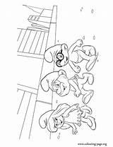 Coloring Smurfs Papa York Smurf Brainy Smurfette Colouring Printable Let Explore Fun Popular Enjoy Together Film sketch template