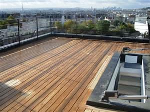 Caillebotis Pour Terrasse : exceptionnel terrasse composite sur plot beton 8 ~ Premium-room.com Idées de Décoration