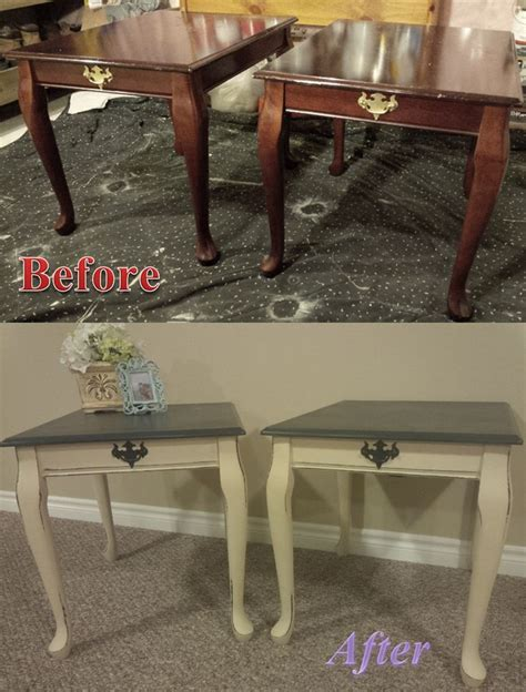 ideas  painted side tables  pinterest