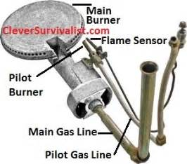 gas water heater pilot light gas water heater troubleshooting repair light the