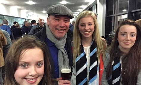 Ally McCoist all smiles at the rugby as Hibernian heap ...