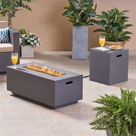 We did not find results for: Leo Outdoor 40-inch Rectangular Light Weight Concrete Gas Burning Fire - GDF Studio