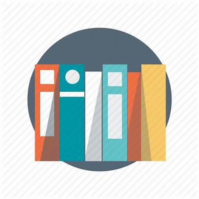 Library Faculty Learning Books Icons Data Education