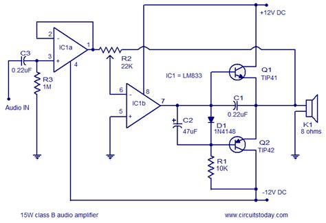 Tip Amplifier Circuit Diagram Images