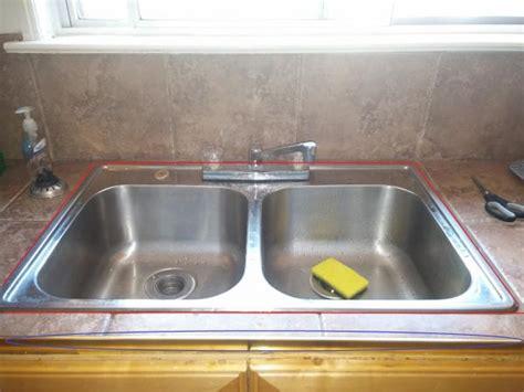 kitchen sink caulking where to caulk this kitchen sink with pictures 2610