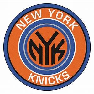 """New York Knicks Logo Roundel Mat - 27"""""""