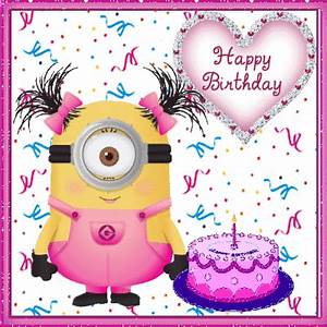 Happy Birthday ... Animated Minion Quotes