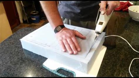 cut foam rubber  elec carving knife youtube