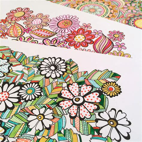 coloring ideas flower designs i create coloring books to stimulate