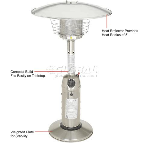 hiland patio heater heaters patio hiland patio heater hlds032 b propane