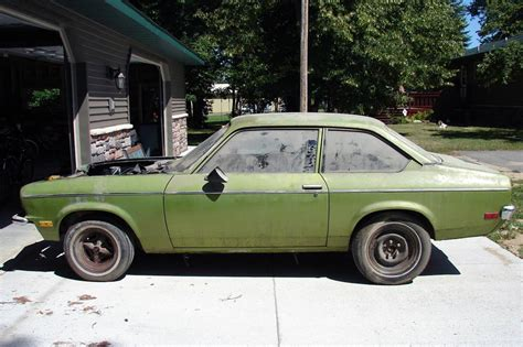 Never Finished: 1972 Chevy Vega