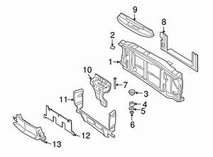Genuine Gm Radiator Support 15009394